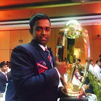 Charith crowned School Boy Cricketer of year 2015