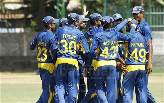 Clinical Sri Lanka U19s win the series