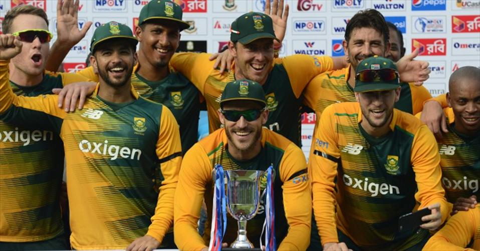 Comprehensive series win for South Africa