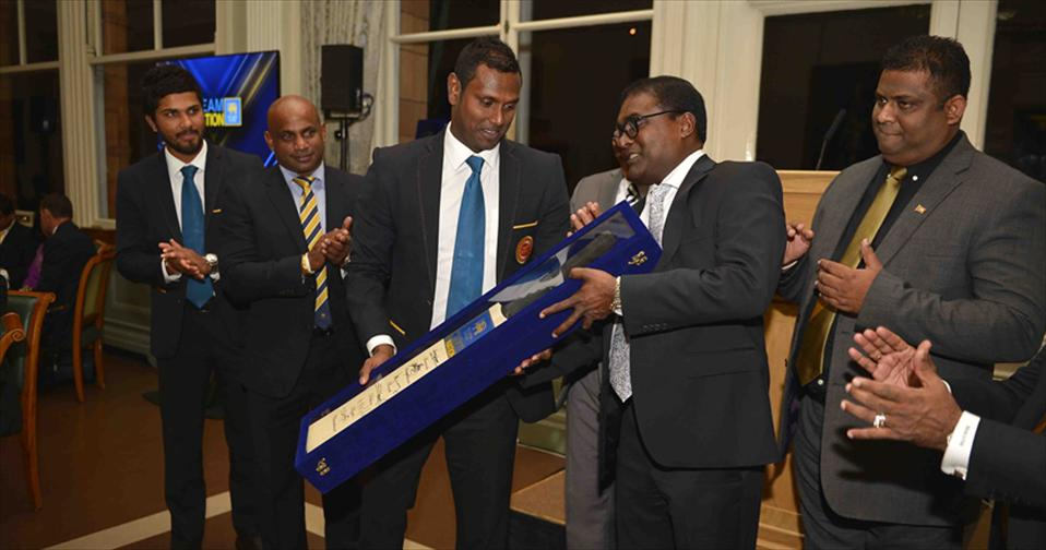Cricket Aid Launched internationally to a packed house