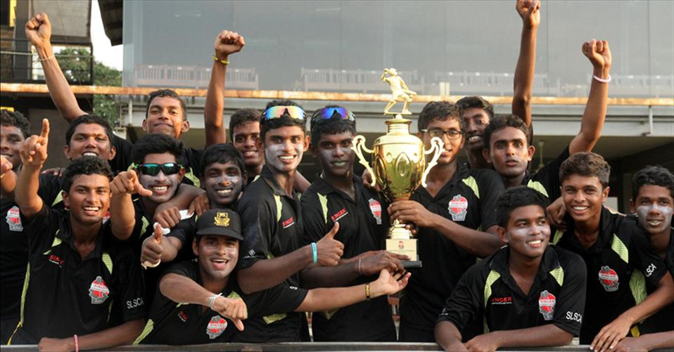 DS Senanayaka crowned U19 Limited-over champions
