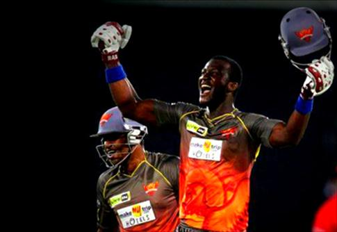 Darren Sammy finishes it off
