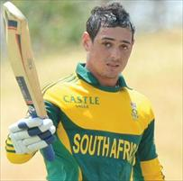 De Kock could recover to face West Indies