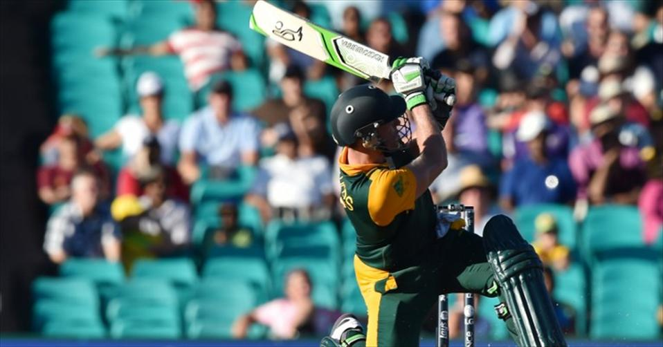 De Villiers spoils Darren Sammys party