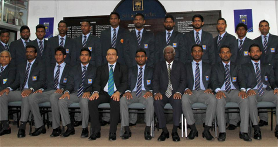 Departure of Sri Lanka A team for a month long tour of England
