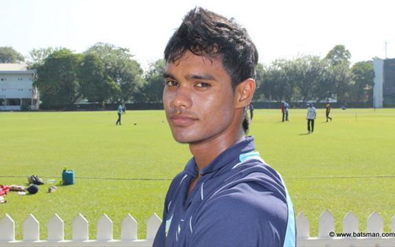 Dhananjaya De Silva, the only centurion today
