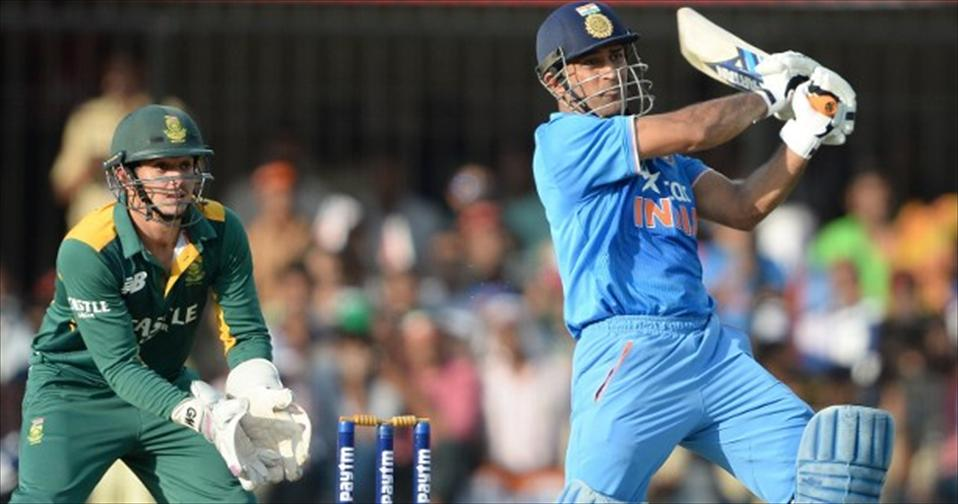 Dhoni and Spinners script Spirited Win