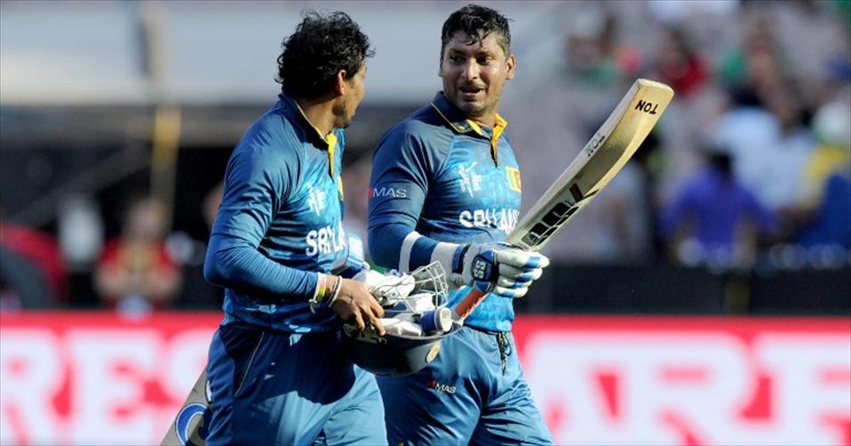 Dilshan and Sangakkara power Lankans to a big win