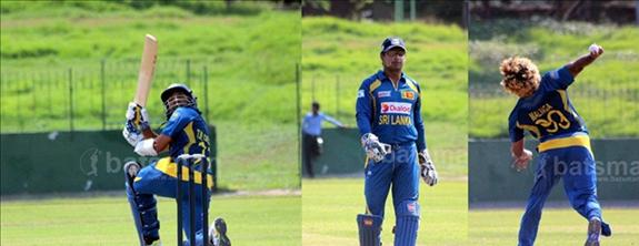 Dilshan, Sangakkara and Malinga in ICC ODI team