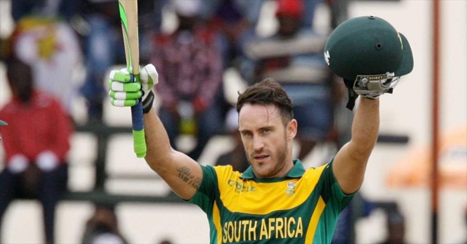 Du Plessis unlikely to recover for NZ ODIs