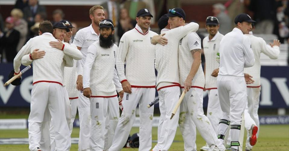England rebound to win first Investec Test