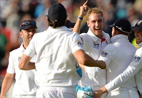 England win the Ashes 2013