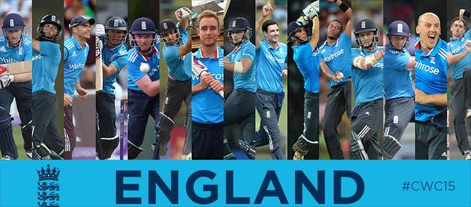 England, first country to reveal their final 15 for WC