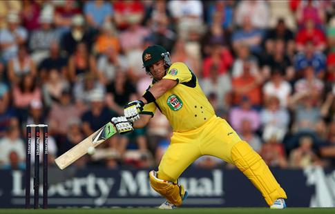 Finch slams record breaking 63-ball 156