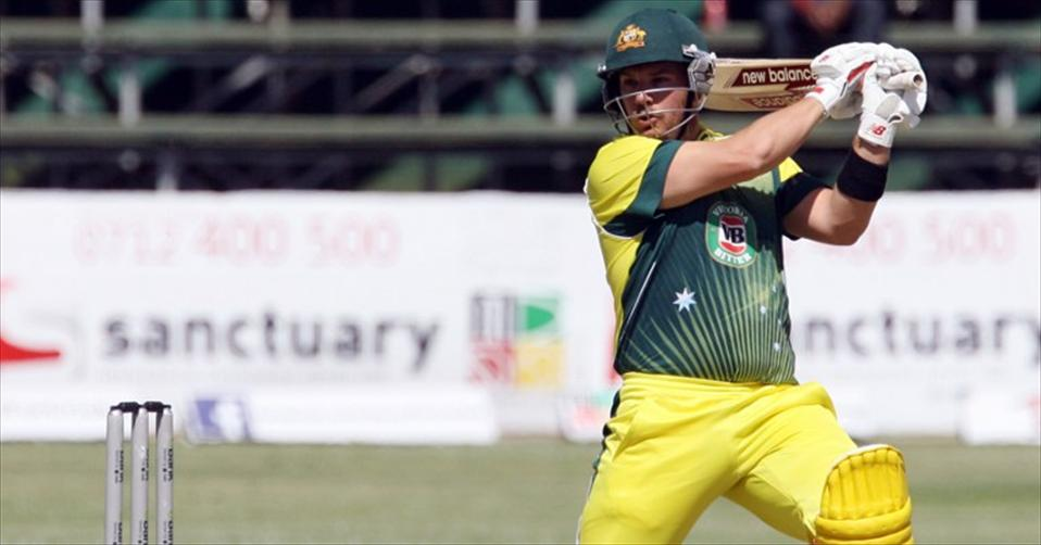 Finch-ton thumps South Africa
