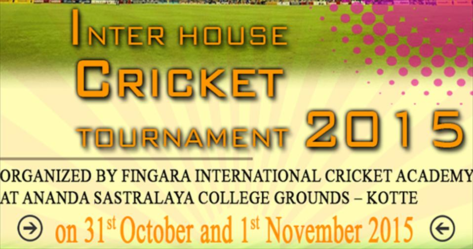 Fingara Inter-house Cricket Tournament 2015