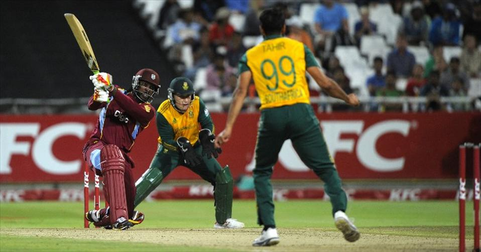 Gayles fastest-fifty wins first T20I for WI