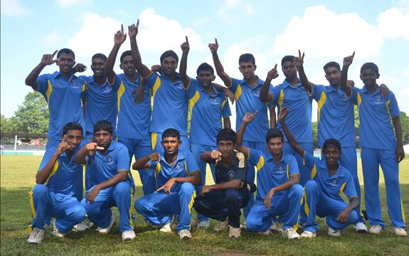 Gurukula win the 'Wesley' sixes 2013