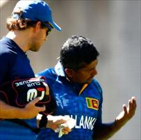 Herath has four stitches