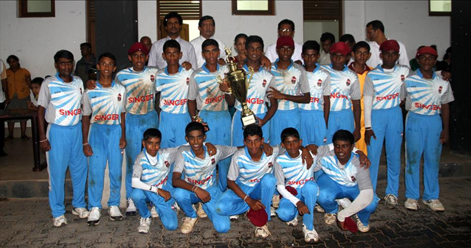 Homagama MRMV clinch U 15 Div 3 Final