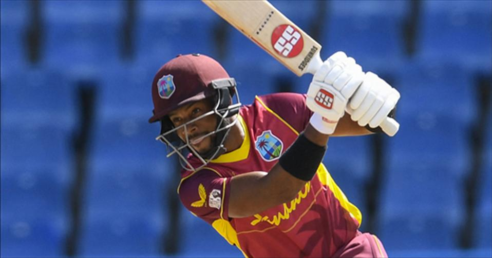 Hopes ton gets West Indies off to a winning start