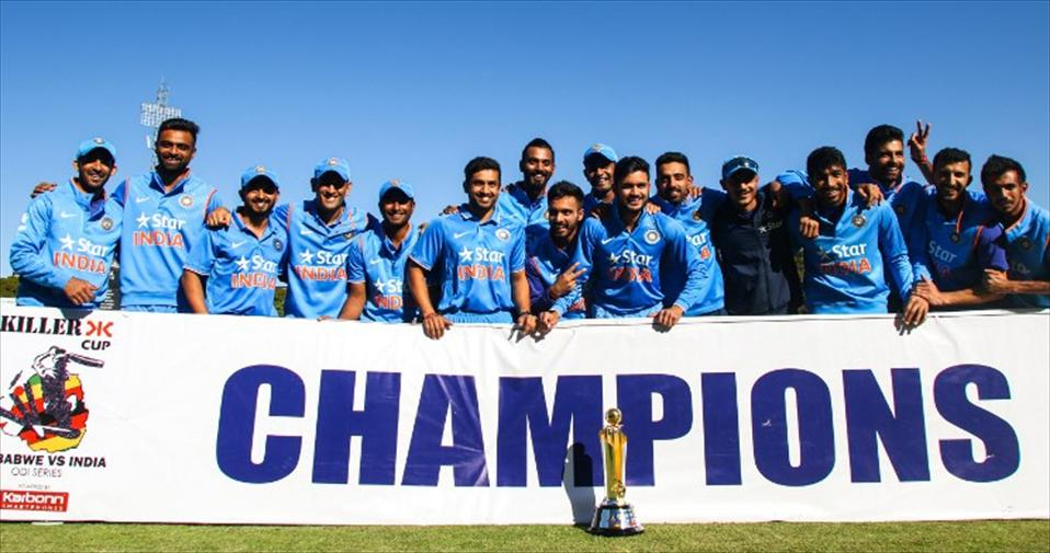India  squeeze-out a dramatic 3-run win to finish series in their favour