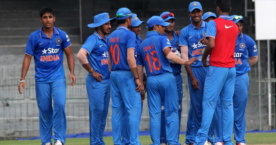 India U19 cruise to finals of Triangular
