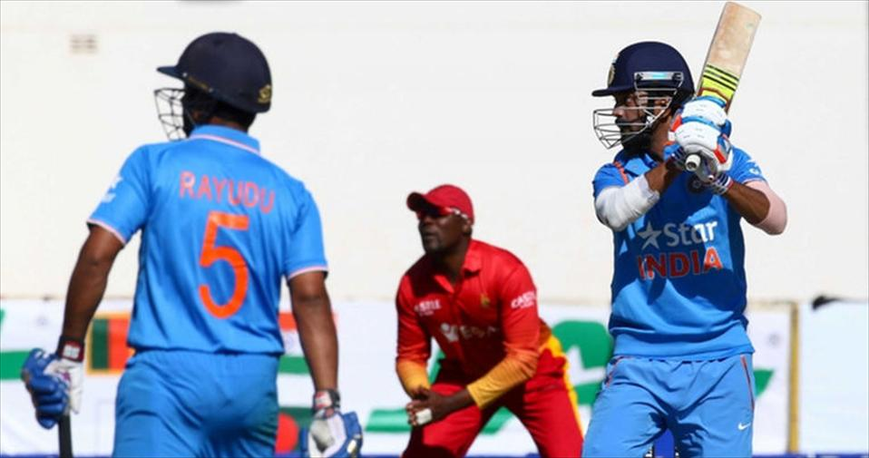 India beat Zim as KL Rahul hits debut Ton