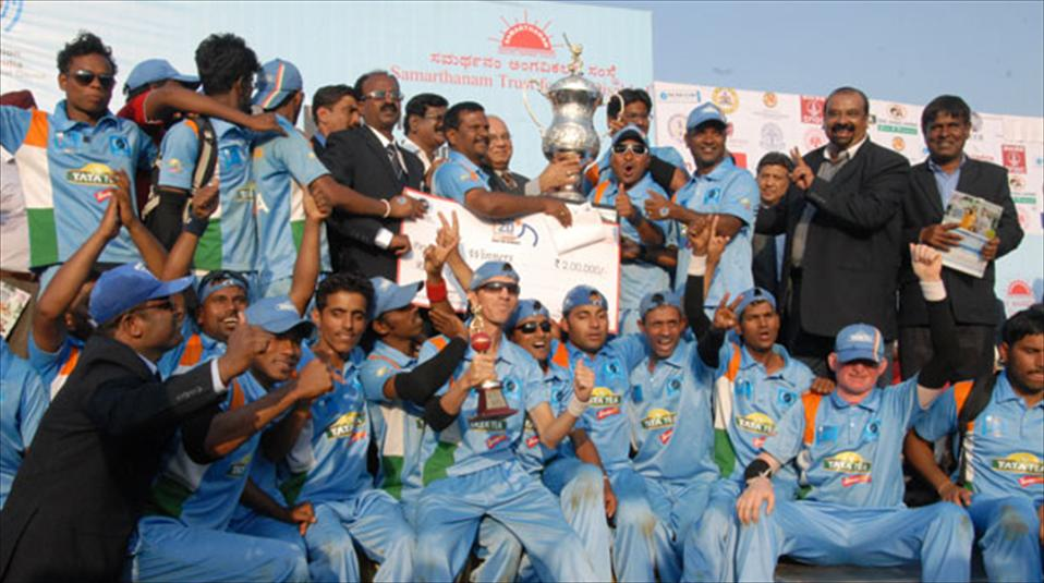 India crowned as champions of Blind Cricket World Cup