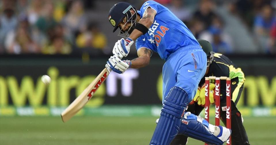 India revel after downing Aussies in first T20I