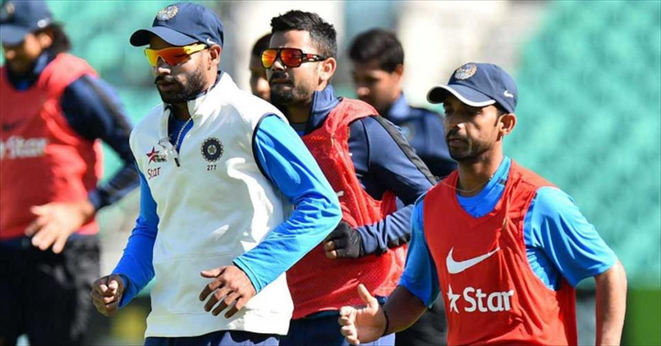 India train for Fatullah Test in Mirpur heat