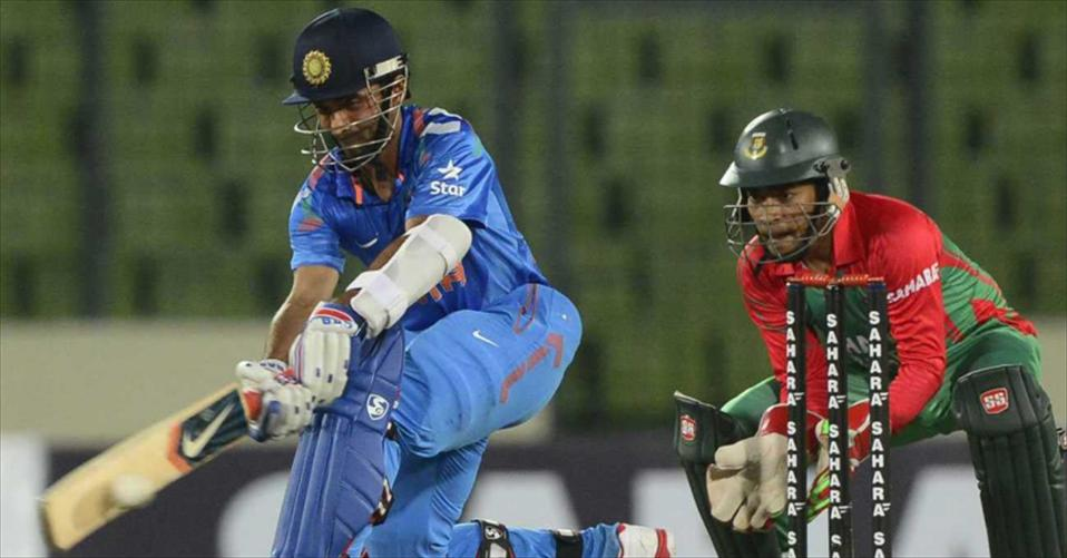 India win rain-hit first ODI with ease