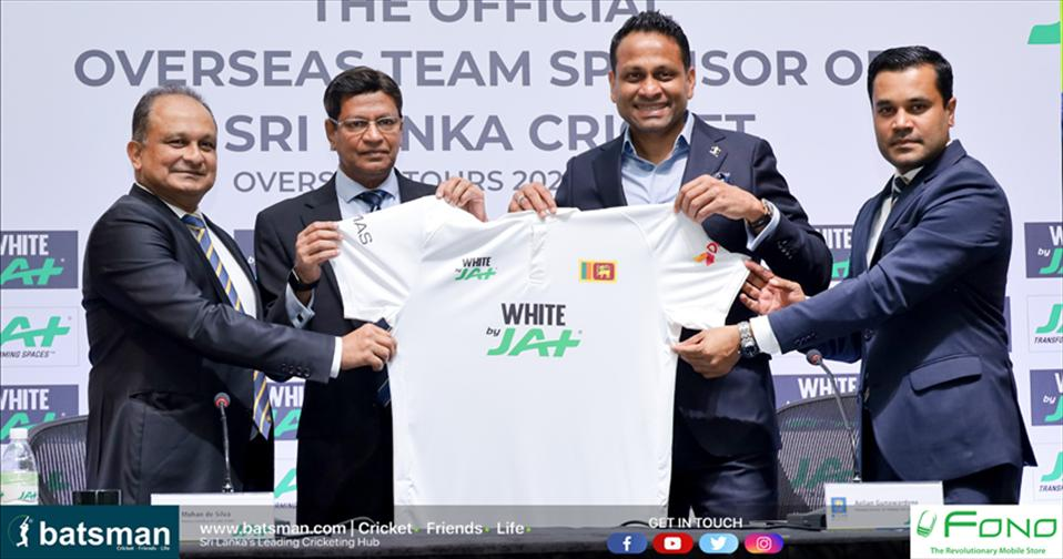 JAT Holdings becomes Official Overseas Team Sponsor of Sri Lanka Cricket