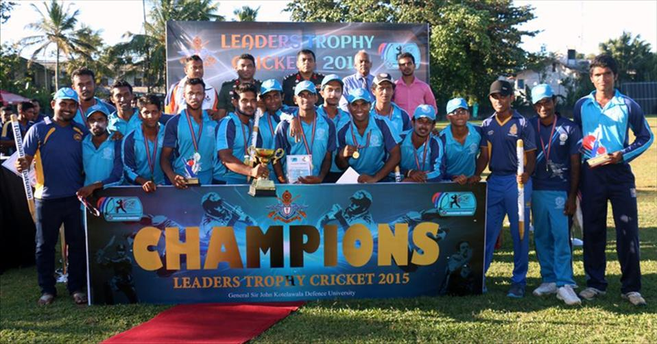 Jayawardanapura win KDU Leaders Trophy