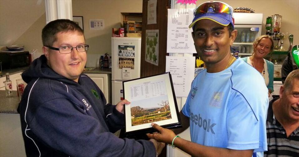 Jeewan Chamikara excels in overseas cricket