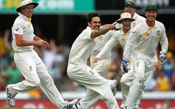 Johnson leads Australia to a memorable win