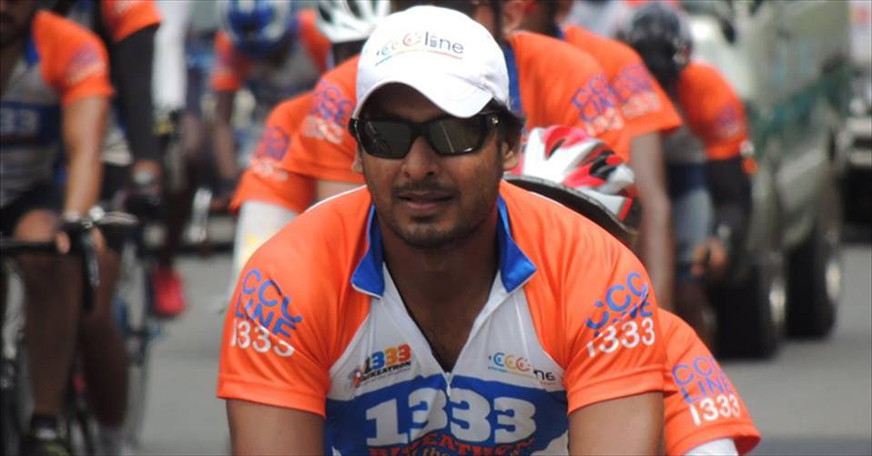 Kumar Sangakkara joined Suicide Prevention Campaign