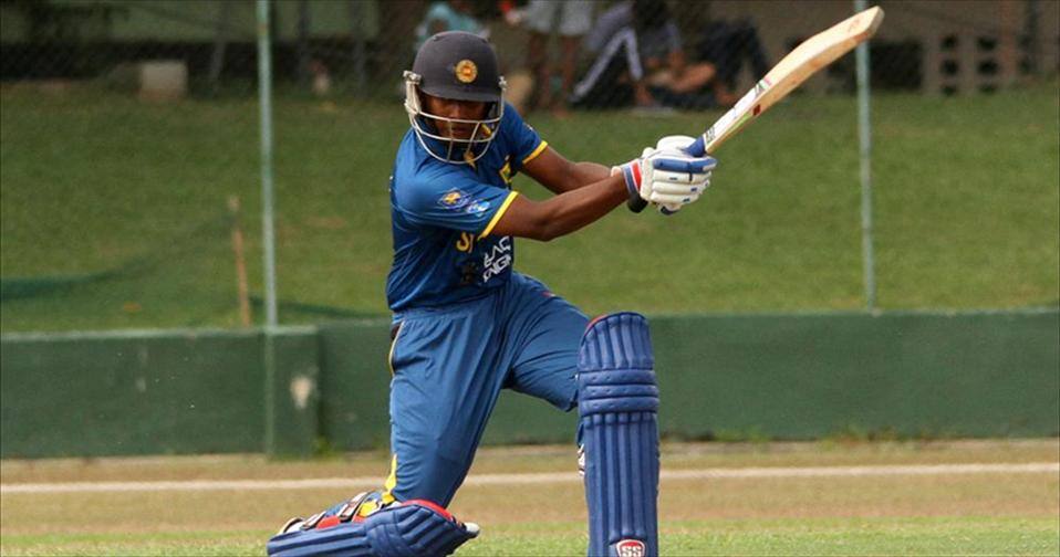 Lankans well resist Englands dominance to force a draw in 1st Youth Test