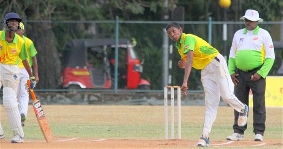 Lasitha and bowlers strangle North Central Province U15