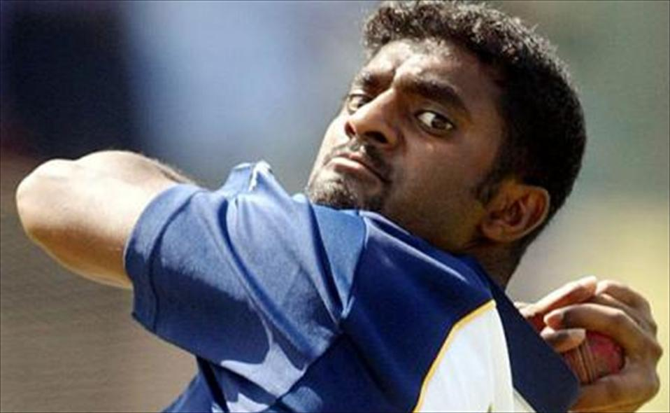 Laughable - the news that ACB had signed on Muralitharan