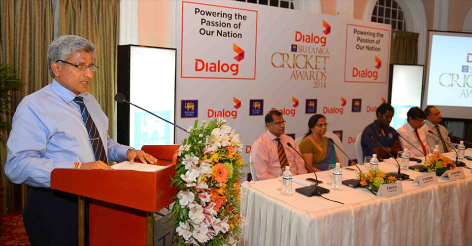 Launch of Dialog Sri Lanka Cricket Awards 2014