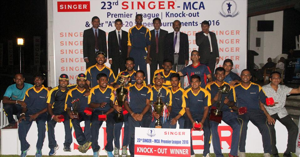 MAS Active win MCA A-div knockout championship