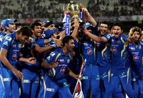 MI win their first IPL title