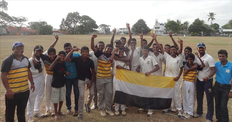Mahanama clinch a place in U15 D1 quarter-finals