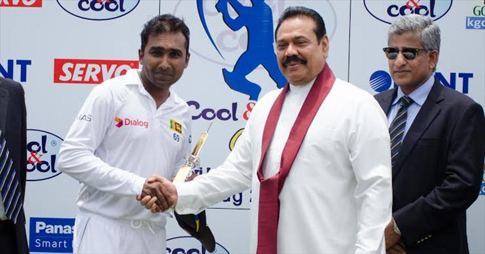 Mahela ends his Test career with a jubilant win