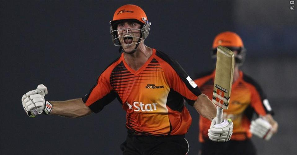 Marsh pulls off a last-ball win for Scorchers