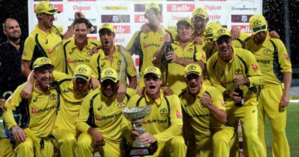 Marsh, Wade and Hazlewood carry Aussies to Triangular-title