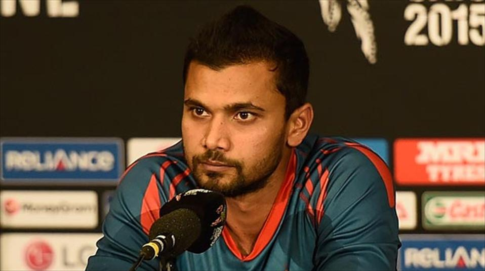 Mashrafe proud of team for building on WC success