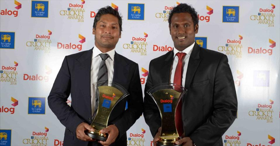 Mathews and Sanga dominate Dialog Cricket Awards