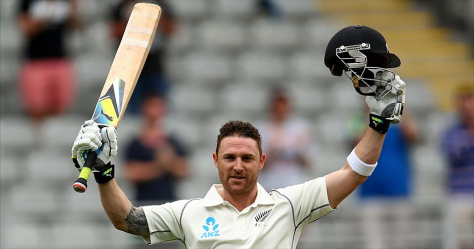 Mccullum hits fastest Test ton in Swansong